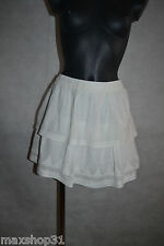 JUPE VOLANTE  KAPORAL TAILLE 40/42 L  SKIRT/ROCK/GONNA/FALDA NEUF BRODE NEW