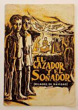 VTG BOOKLET / EL CAZADOR Y EL SONADOR / DIVEDCO / R. TUFINO / PUERTO RICO 1974