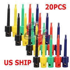 20PCS Wire Kit Test Hook Clip Grabbers Probe For Multimeter, Arduino, SMT/SMD