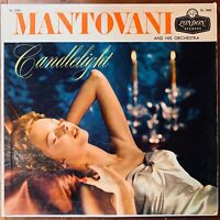 MANTOVANI AND HIS ORCHESTRA CANDLELIGHT LONDON RECORDS LL 1502 VERY GOOD COND.