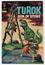 Gold Key TUROK SON OF STONE #80 Sept 1972 Vintage Comic