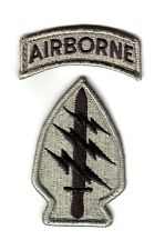 "SPECIAL FORCES Gp ""ACU Patch & Tab"" (Fabrication Actuelle)"