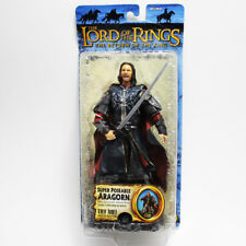 Toybiz Lord of the Rings Return of the King Super Poseable Aragorn w/ Sound New
