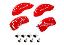 Mgp Caliper Cover 10 Jaguar Caliper Covers Red Pn 41003sjalrd