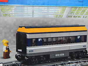 Lego City Train Buffet Food Dining Carriage passenger from 60197 New genuine