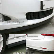 7.5 Feet Front Bumper Spoiler Chin Lip Splitter Valence Trim Body Kit for AUDI