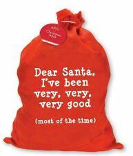 Giant Christmas Santa Sack Stocking Extra Large Red Father Xmas Gift Present Bag