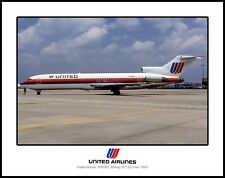 United Airlines Boeing 727 11x14 Photo (I043RGWW11X14)