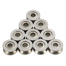 10pcs 624VV 4mm V Groove Sealed Ball Bearings Wire Guide Pulley Wheels Roller