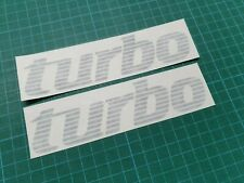 "Renault Alpine GTA V6 ""Turbo"" Decals Stickers Graphic Restoration"