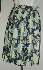 Damenfaltenrock Gr.40   geblümt   neu   Polyester                    (4370)