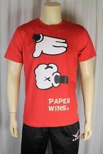 Fenchurch Hombre Rojo Camiseta Talla Mediana (81)