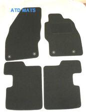Tailored Car Mats BLACK FOR Vauxhall Corsa D  E 2007 Onwards VXR SRI CDTI  B1312