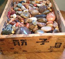 Vintage Collection Box: Polished Rocks OOAK
