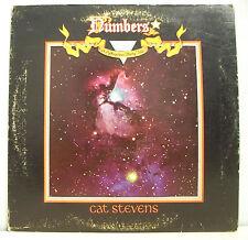 """33 tours CAT STEVENS Disque Vinyl LP 12"""" NUMBERS - ISLAND 9299 Frais Reduit"""