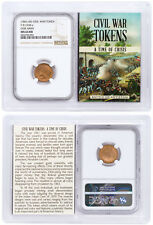 (1861-1865) United States Our Army Civil War Token NGC MS64 RD Story Vt SKU38947