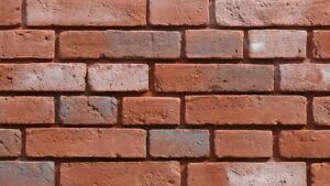Decorative Brick, Wall Cladding, Slate Stone Tile Slips Brick Tiles VINTAGE 3