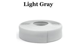Light GraySKIRTING BOARD PVC FLEXIBLE - SELF ADHESIVE PVC 5m - 25m linear metres