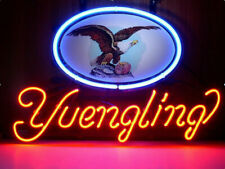 """New Yuengling Eagle Neon Sign Light Lamp Bar Pub Gift 20""""x16"""""""