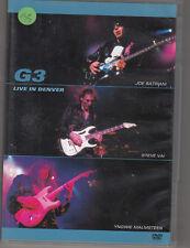 JOE SATRIANI / STEVE VAI / YNGWIE MALMSTEEN - G3 live in denver DVD