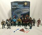 """Star Trek: The Next Generation COLLECTOR""""S CASE w/ Loose Figures Lot of 14"""