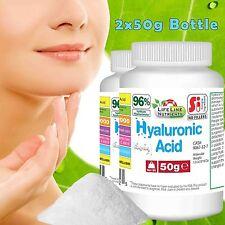 100g PURE Hyaluronic Acid Powder - Sodium Hyaluronate