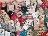 10 pairs luxury women's ladies design coloured socks cotton UK size 4- 7 HKMWPKD