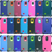 New For Samsung Galaxy Note 4 Defender Case (Belt Clip fits Otterbox series)