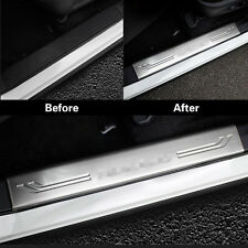 Auto Parts Inside Door Sill Scuff Plate Guards For Nissan MURANO 2015-2017 4pcs