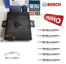 Beru Org Glühzeitsteuergerät und 6x Bosch Glühkerzen für BMW 6-Zylinder 5er 6er