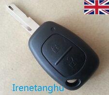 Renault Trafic Vivaro Primastar Master Kangoo 2 Button Remote Key Fob Case+Blade