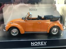 VW Käfer  - Coccinelle - 1303 Cabrio orange 188521 Norev 1:18 NEW