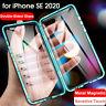 360 Magnetico Cover per iPhone SE 2020 11 Pro XS Max XR custodia vetro temperato