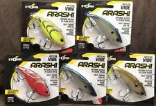 "(5) Storm Arashi Rattling Vibe 2.75"" 9/16oz Lipless Crankbaits Good Colors X61"