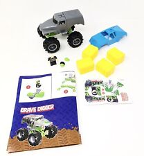 Knex Monster Jam Grave Digger Truck with Sounds & Figure Accessories