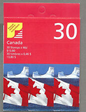CANADA 1998 Booklet - FLAG Over ICEBERG (S/A Flash) (30 @ 46c) Complete MNH