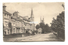 Ashford, Kent - Church Street, houses - 1905 used postcard, Goulden & Wind