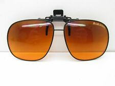 Blublocker SUNGLASS CLIP-ON 60-14 Black Square Sport TV6 33195