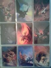 ALBUM OF JEFF EASLEY, AND BROM FANTASY CARDS PLUS BONUS