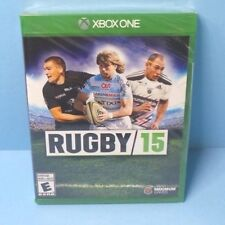 RUGBY 15 XBOX ONE BRAND NEW FACTORY SEALED