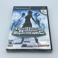 NEW Dance Dance Revolution SuperNova 2 (Sony PlayStation 2, 2007) PS2 DDR Sealed