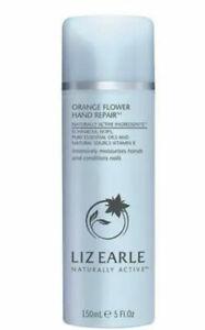 Liz Earle Orange Flower Hand Repair 150ml Pump - Brand New
