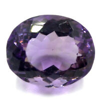 Cts. 9.50 Natural Brazil Amethyst Untreated Oval Cut Stone Loose Gemstone