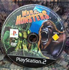 Play Station 2 Spiel PS2 War of Monsers  Spiel