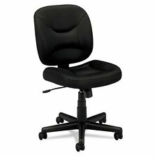 Mobile Office Task Black Swivel Chair Computer Seat Pneumatic Height Adjustment