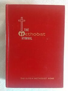 The Methodist Hymnal 1966 Vintage Hardcover 500+ Hymns Christian Music Official