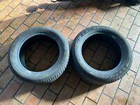 2x Michelin Alpin 5 Pneu D'Hiver Pneu 205/55R16 91H Point: 1516 4-5mm