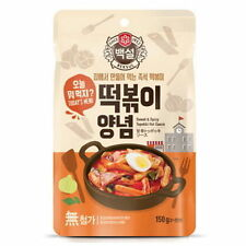 Korean Traditional Sweet and Spicy Rice Cake Tteokbokki (Topokki) Sauce 150g