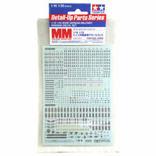 Tamiya 12625 German WWII Military Insignia Decal Set for 1/16 1/35 Figures