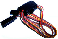 8105 RC On Off Switch w Spare Male Plug 3 Pin JR Compatible